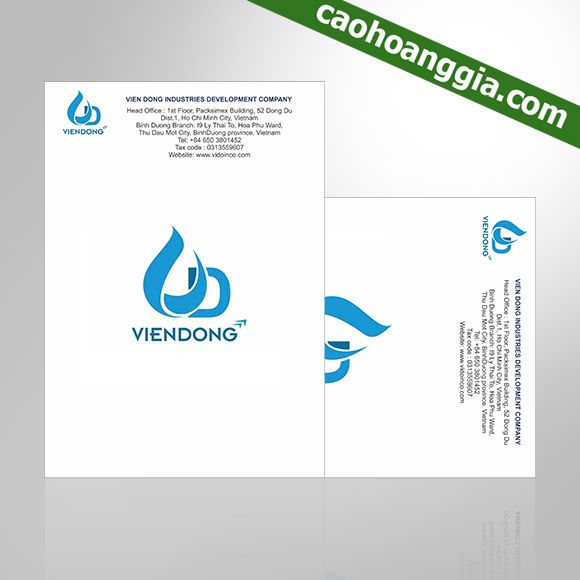 Các bước cần biết khi thiết kế – in ấn giấy tiêu đề giá rẻ