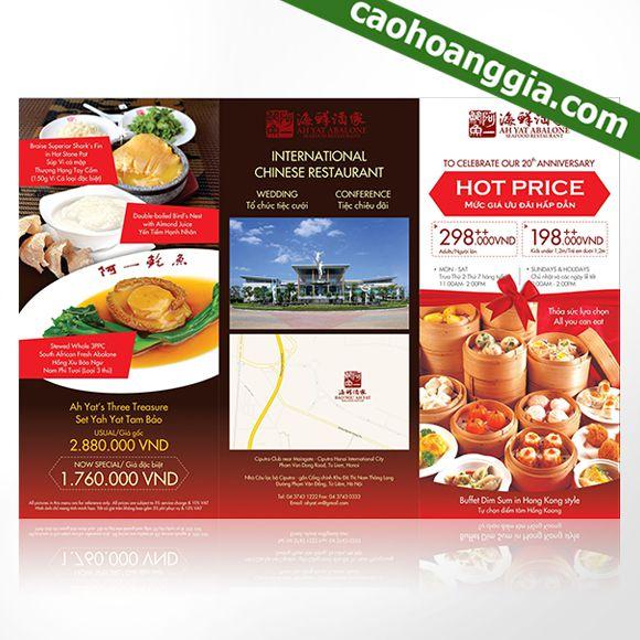 Công ty chuyên in brochure, in tờ rơi giá tốt tại tphcm
