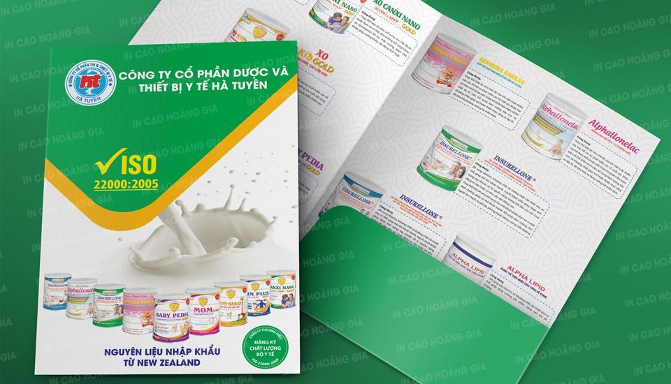 In ấn folder giá rẻ nhất thị trường