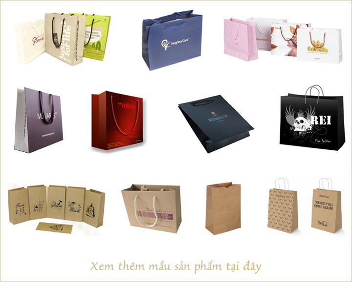 Nơi cung cấp sản phẩm in túi giấy tại tphcm
